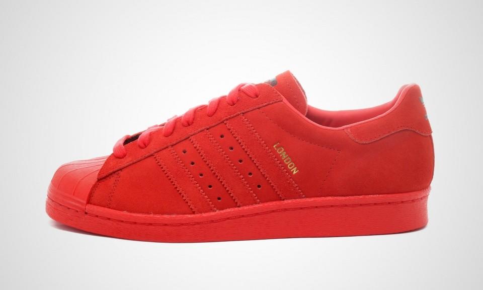 adidas superstar rouge daim,Hommes ADIDAS SUPERSTAR RT Rouge