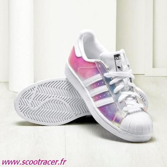 chaussures basket adidas fille
